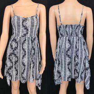H&M Asymmetrical Spaghetti Strap Dress